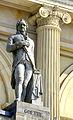 1850 circa Standbild Johann Wolfgang von Goethe vom Hofbildhauer Bernhard Wessel am vom Laves errichteten Opernhaus in Hannover.jpg