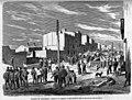 1870-04-27, La Ilustración de Madrid, Sucesos de Barcelona, Aspecto de la barricada de Sans momentos antes de ser atacada por las tropas, Pellicer.jpg