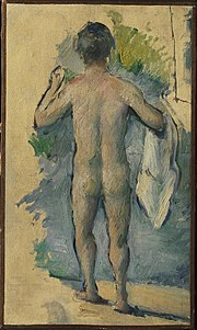 1879, Cézanne, Standing Bather Seen from Behind.jpg