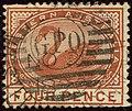 1890ca 4d chestnut Western Australia oval GPO Yv46 SG98.jpg