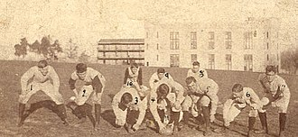 1892 VMI Keydets football team - Image: 1892 VMI Keydets football team