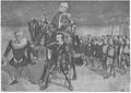 1900 - Caricatură de Petrscu a lu Take Ionescucu ocazia fuziunii conservatorilor cu junimistii, 1900.PNG