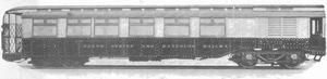 London Underground 1906 Stock - Image: 1906 Gate Stock Motor Car