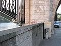 1910 flood level sign on the pont de Levallois.jpg