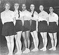 1950lerin Basinda Camlica Kiz Lisesi Voleybol Takimi.jpg