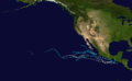 1954 Pacific hurricane season summary map.png