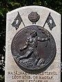1956 memorial, Bronze relief. - Görgey Square, 2016 Csepel.jpg