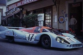 John Wyer - Image: 1971 Le Mans Porsche 917LH Derek Bell Jo Siffert Hotel de France