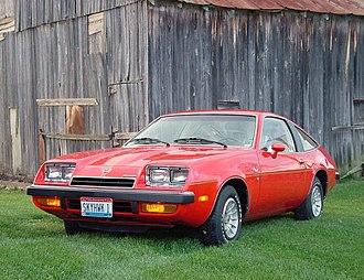 Buick Skyhawk - 1975 Buick Skyhawk hatchback coupe
