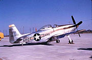 197th Fighter Squadron - North American F-51H-5-NA Mustang 44-64455