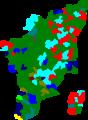 1980 tamil nadu legislative election map by parties.png