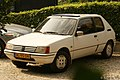 1985 Peugeot 205 XR Lacoste (15331240975).jpg