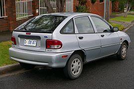 Facelift Ford Festiva GLXi 5 Door Australia