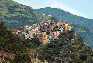 Cinque Terre - Image: 1 corniglia 2012