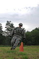 1st Lt. Jeremy Gilbert tackles the stress shoot event (7645771010).jpg