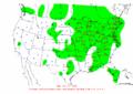 2002-10-13 24-hr Precipitation Map NOAA.png