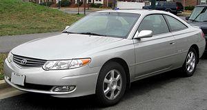 Toyota Camry Solara - 2002–2003 Toyota Solara SLE coupe