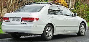 Honda Accord (North America seventh generation) - Pre-facelift Honda Accord V6 sedan (Australia)