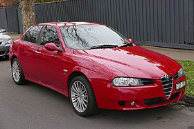 2004 Alfa Romeo 156 (MY04) JTS sedan (2015-07-09) 01.jpg
