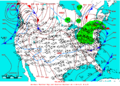 2006-01-25 Surface Weather Map NOAA.png