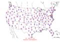 2006-02-04 Max-min Temperature Map NOAA.png