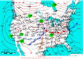 2006-03-11 Surface Weather Map NOAA.png