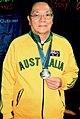 2009 World Masters Badminton Silver Medalist.jpg