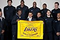 2010 NBA Champion Los Angeles Lakers with President Obama.jpg