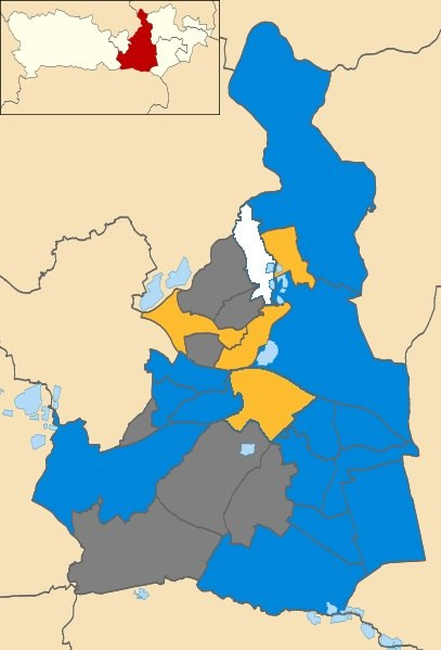 2012 Election Results for Wokingham Borough
