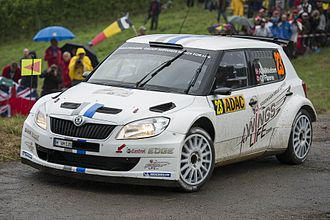 Volkswagen Polo R WRC - Volkswagen's preparations for their return began in 2012, entering a Škoda Fabia S2000 throughout the season to gain experience running a team.