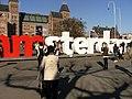 20130420 Amsterdam 29 I Amsterdam logo at Museumplein.JPG
