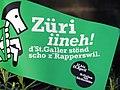 2013 Sechseläuten - 'Willkommä z'St. Gallä' - 'Züri iineh! d'St. Galler stönd scho z'Rapperswil.' - Lindenhof 2013-04-14 18-24-22 (P7700).JPG