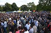 2014-08-16 Demonstration Jesiden Eziden Aleviten Kurden in Hannover gegen die Terrorgruppe Islamischer Staat (IS), (313)