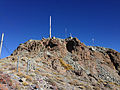 2014-10-10 15 10 21 The summit of Mount Lewis in Lander County, Nevada.JPG