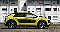 2014 Citroen C4 Cactus Feel Edition PureTech e-THP 110 Seitenansicht Hello Yellow.jpg