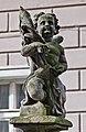 2014 Kłodzko, posąg św. Jana Nepomucena, 07.JPG