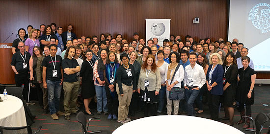 WikiConference USA attendees in New York