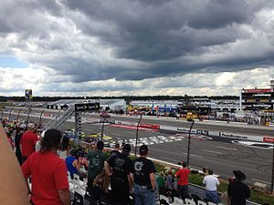 2015 NASCAR Camping World Truck Series - The Pocono Mountains 150 at Pocono Raceway in August