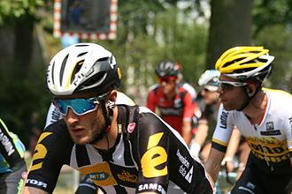 Steve Cummings - Cummings at the 2015 Tour de France
