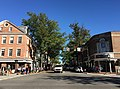 2016-10-09 15 44 43 View east along Virginia State Route 7 (King Street) at Virginia State Route 400 (Washington Street) in Alexandria, Virginia.jpg