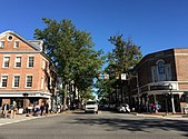 2016-10-09 15 44 43 View east along Virginia State Route 7 (King Street) at Virginia State Route 400 (Washington Street) in Alexandria, Virginia.jpg