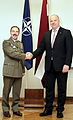 20160415 General Farina and the Latvian Minister of Defense (26434273391).jpg