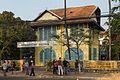 2016 Kampot, Stary budynek architektury kolonialnej.jpg
