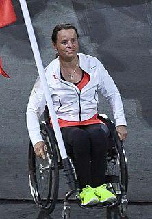 Sandra Graf Swiss Paralympic wheelchair racer