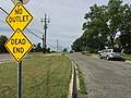 2017-06-03 09 40 44 View south along Maryland State Route 964 (Truman Road) at Red Top Road in Chillum, Prince George's County, Maryland.jpg