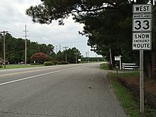 Maryland Route 33 - Wikipedia