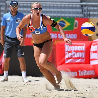 Sara Hughes American beach volleyball player