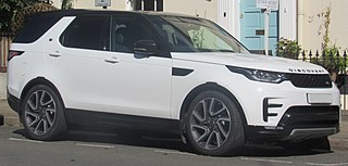 Land Rover Discovery series of mid-size SUVs from Land Rover