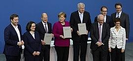 2018 03 12 Unterzeichnung Des Koalitionsvertrages Der 19 Wahlperiode Bundestages By Sandro