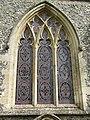 2018-04-23 Window, parish church of Saint James, Southrepps, Cromer.JPG